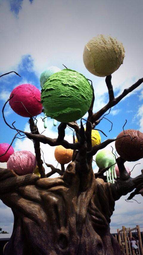 Ice cream Tree