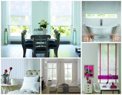 Clover and Thorne White Window Treatments