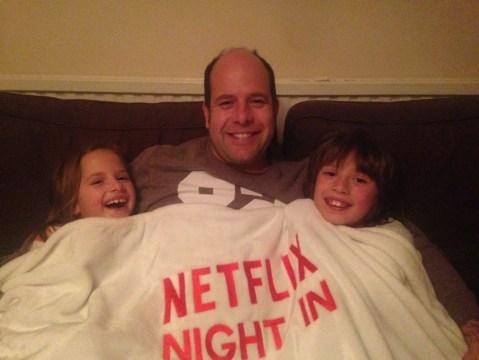 Family NetFlix Night In
