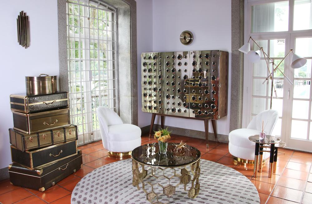 Dream House Covet House Metallic Interior Touches