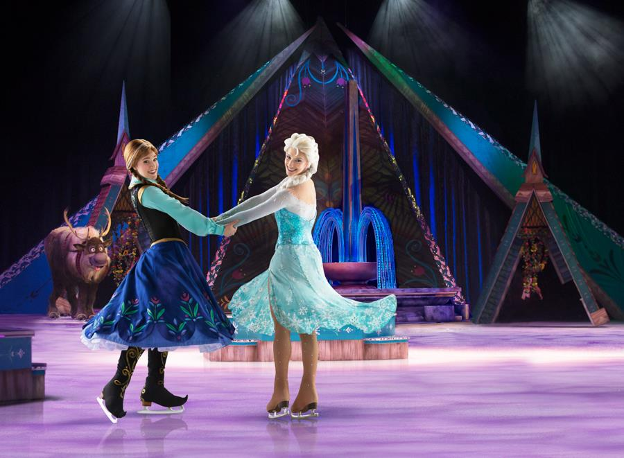 Anna and Elsa Disney On Ice Presents Frozen Ticket Giveaway