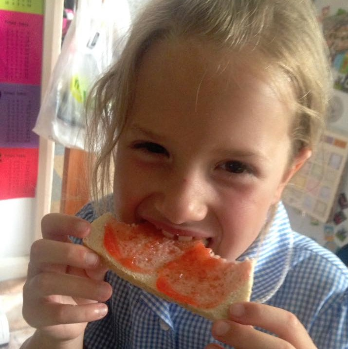 Strawberry Jam Breakfast