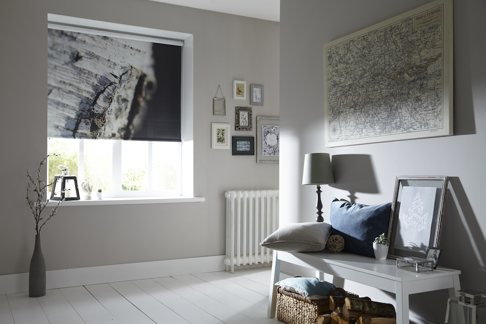 Apollo Blinds Digital Roller Blinds - Silver Birch
