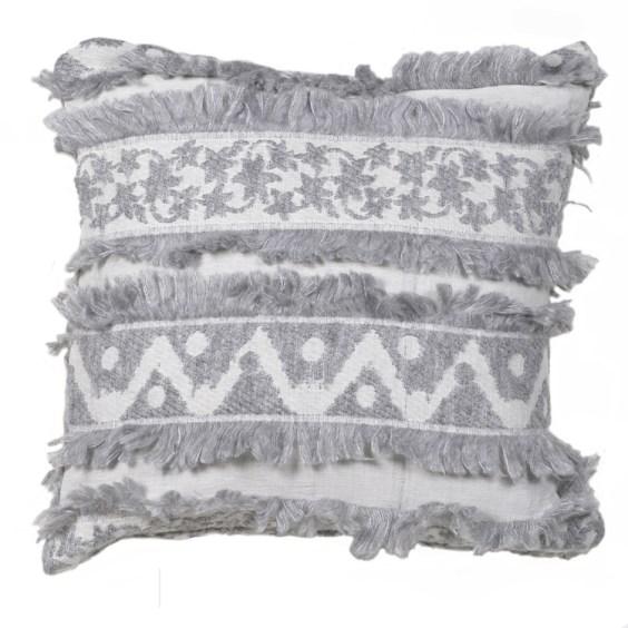 Boho Fringe Cushion The French Bedroom Co