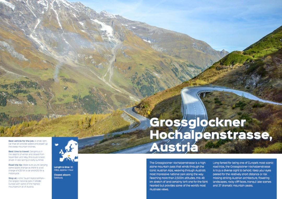 Grossglockner Hochalpenstrasse, Austria