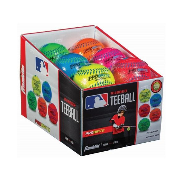 Franklin rubber probrite teeball | 23cm | official size