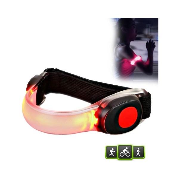 Pure2Improve - Siliconen - LED armband - voor - hardlopen - fietsen - hardloop armband