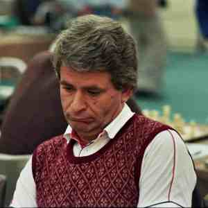 Spassky in 1984. Photographer Gerhard Hund.