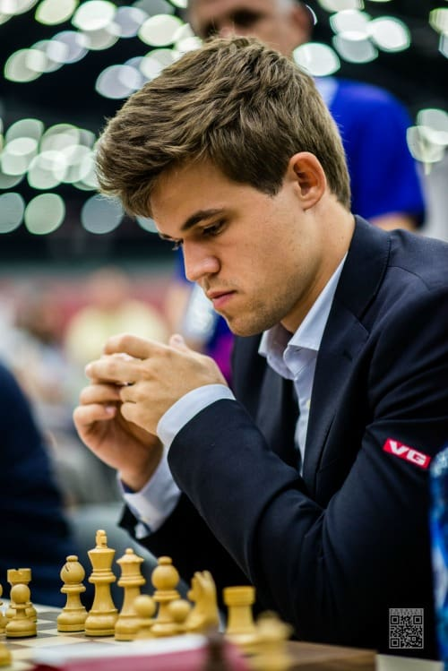 The champ, Magnus Carlsen