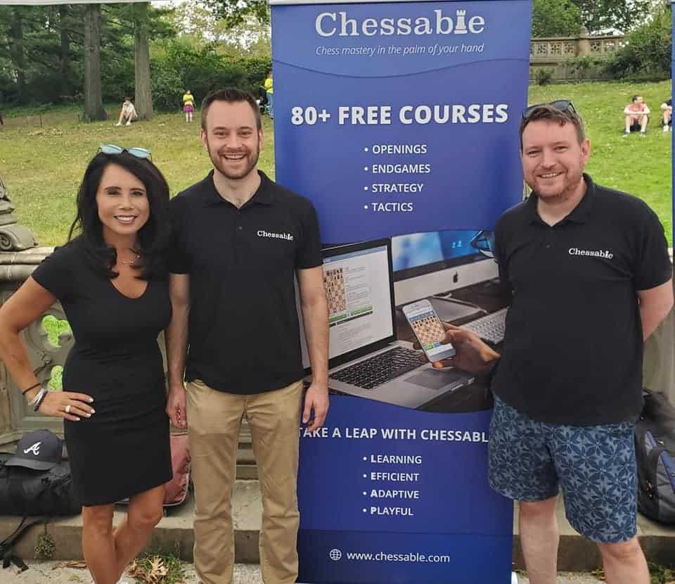 John and I with Kimberley Doo, from US Chess