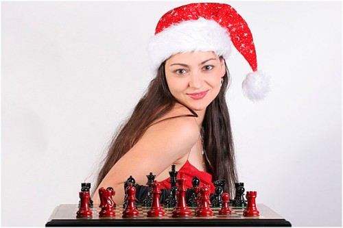 30-year-old Alexandra Kosteniuk is Olympic chess champion for third consecutive time with the Russian team