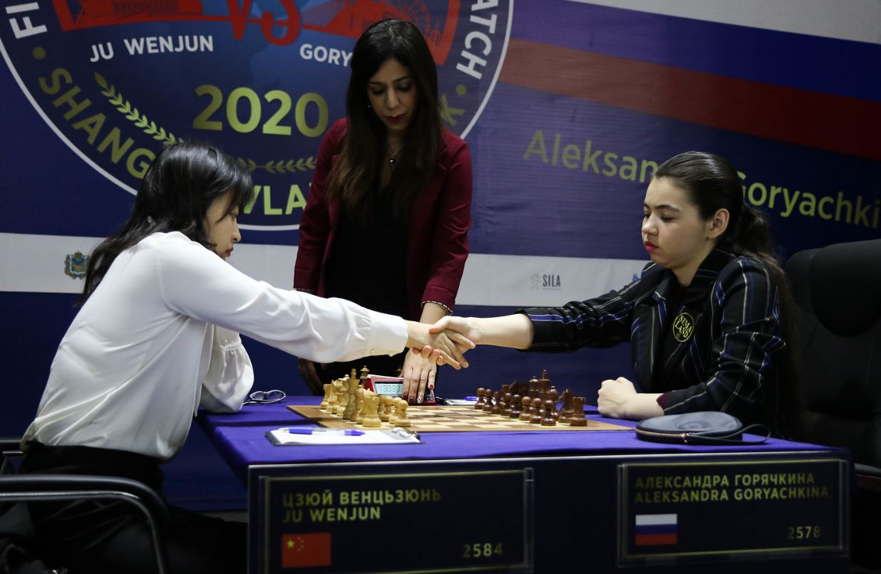 Game 11 A Draw Aleksandra Now Needs A Win To Force
