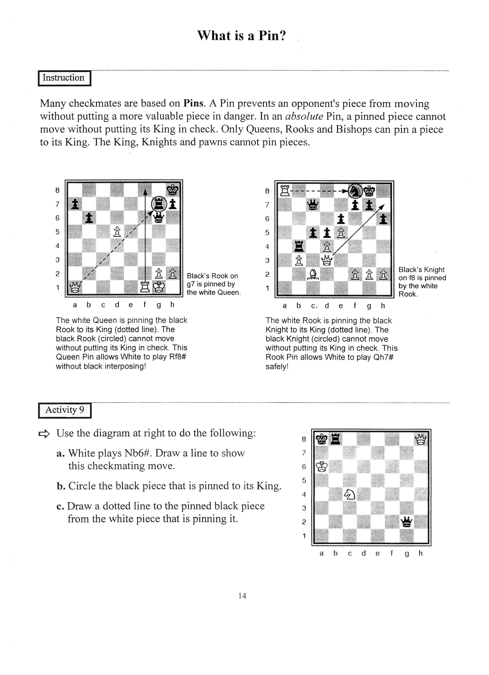 Checkmate Ideas For Students