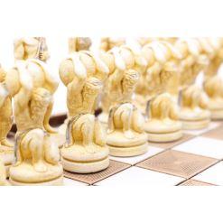 ARMA 陶器のチェスセット アトラス 31cm 金 5