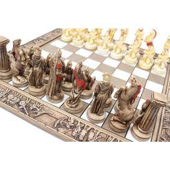 ARMA 陶器のチェスセット レオニダス 31cm 赤 9