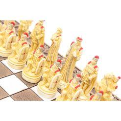 ARMA 陶器のチェスセット トロイア戦争 31cm 赤 12