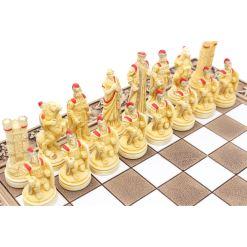 ARMA 陶器のチェスセット トロイア戦争 31cm 赤 6