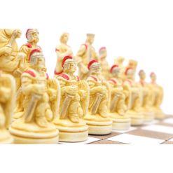 ARMA 陶器のチェスセット トロイア戦争 31cm 赤 7