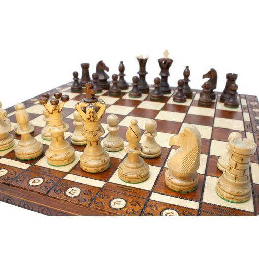 Wegiel 木製チェスセット アンバサダー 52cm 14