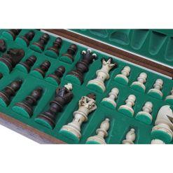 Wegiel 木製チェスセット アンバサダー 52cm 6
