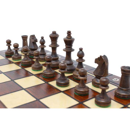 Wegiel 木製ゲームセット チェス/バックギャモン/チェッカー 41cm 11