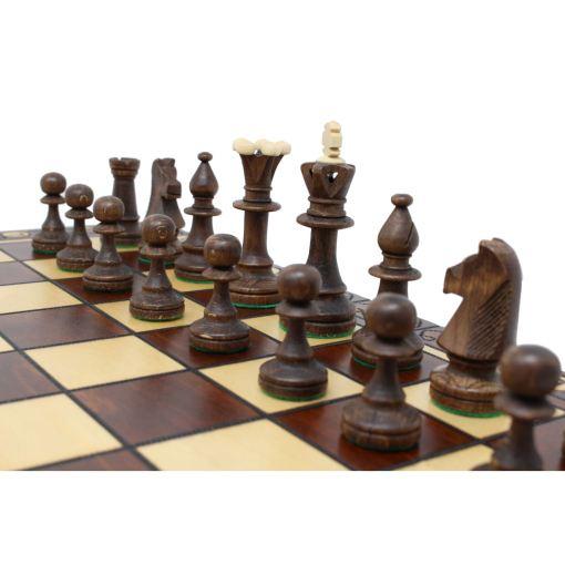Wegiel 木製チェスセット コンスル 47cm 12