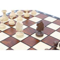 Wegiel 木製チェスセット マグネティック 27cm 14