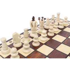 Wegiel 木製チェスセット ロイヤル 35cm 10