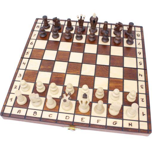 Wegiel 木製チェスセット ロイヤル 35cm 12