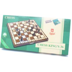 Wegiel 木製チェスセット ロイヤル 35cm 17