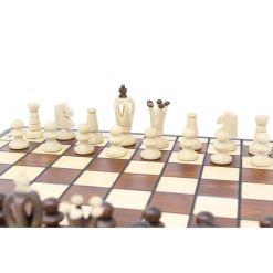 Wegiel 木製チェスセット ロイヤル 35cm 8