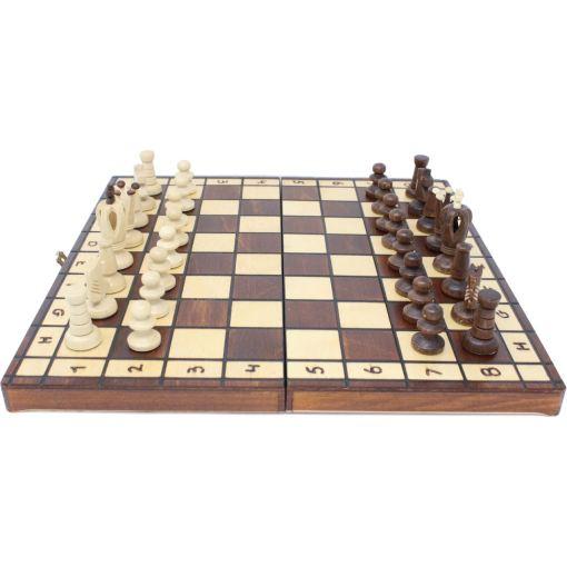 Wegiel 木製チェスセット ロイヤル 35cm 9