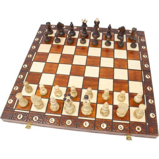 Wegiel 木製チェスセット セネター 41cm 1
