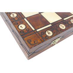 Wegiel 木製チェスセット セネター 41cm 3
