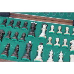 Wegiel 木製チェスセット セネター 41cm 6