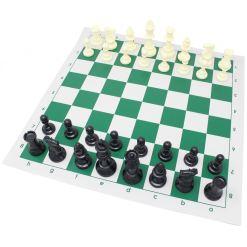 チェスジャパン スタンダードチェスセット ナショナル 43cm グリーン 12