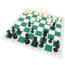 チェスジャパン スタンダードチェスセット ナショナル 43cm グリーン 13