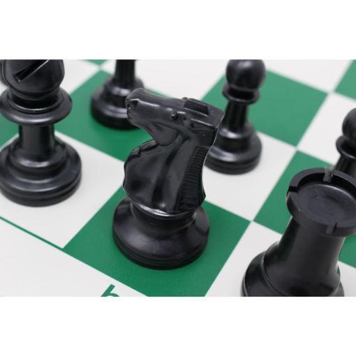 チェスジャパン スタンダードチェスセット ナショナル 43cm グリーン 17