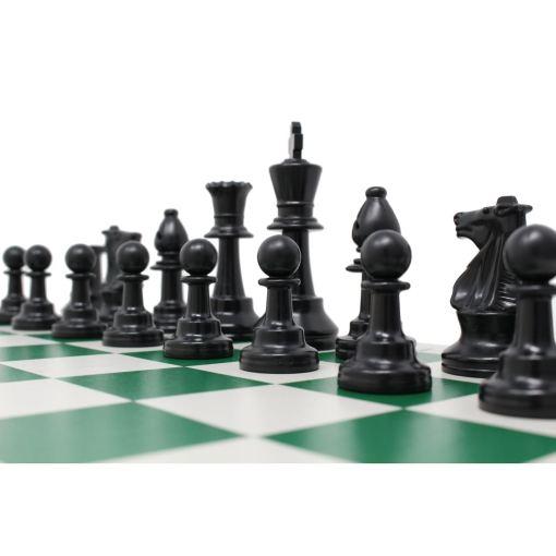 チェスジャパン スタンダードチェスセット ナショナル 43cm グリーン 4