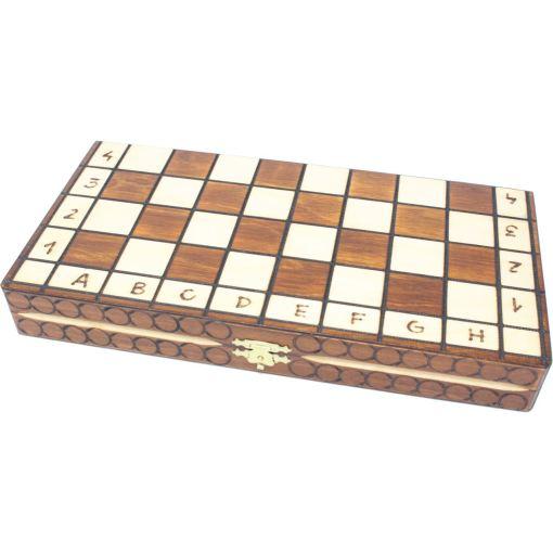 Wegiel 木製チェスセット ロイヤル 30cm 2
