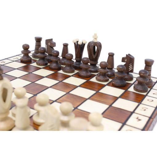 Wegiel 木製チェスセット ロイヤル 30cm 7