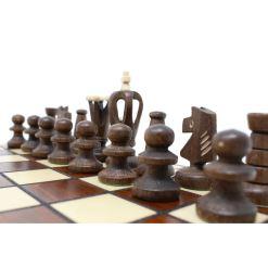 Wegiel 木製チェスセット ロイヤル 30cm 8