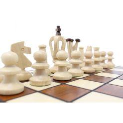 Wegiel 木製チェスセット ロイヤル 30cm 9