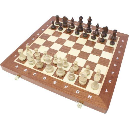 Wegiel 木製チェスセット トーナメントNo.4 41cm 1