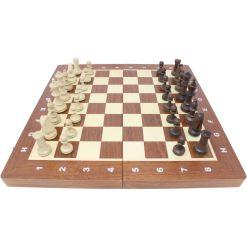 Wegiel 木製チェスセット トーナメントNo.4 41cm 11