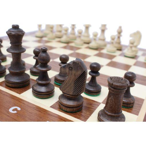 Wegiel 木製チェスセット トーナメントNo.4 41cm 12