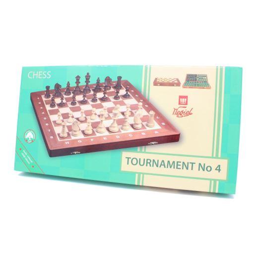 Wegiel 木製チェスセット トーナメントNo.4 41cm 14