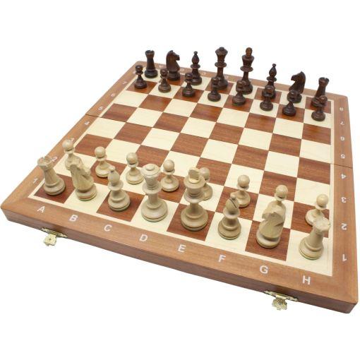 Wegiel 木製チェスセット トーナメントNo.5 47cm 1