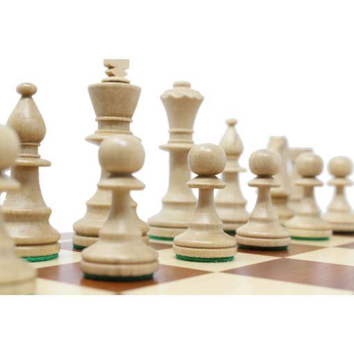 Wegiel 木製チェスセット トーナメントNo.5 47cm 10