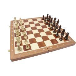Wegiel 木製チェスセット トーナメントNo.5 47cm 11